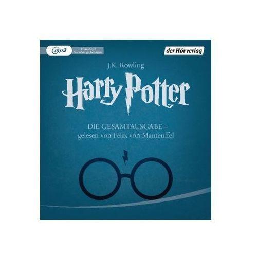Harry Potter - Die Gesamtausgabe, 15 MP3-CDs Rowling, Joanne K. (9783844524741)