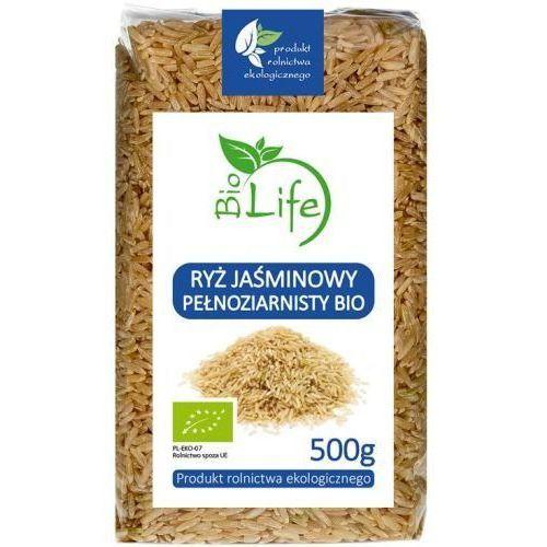 Ryż jaśminowy pełnoziarnisty 500g - biolife marki 101biolife