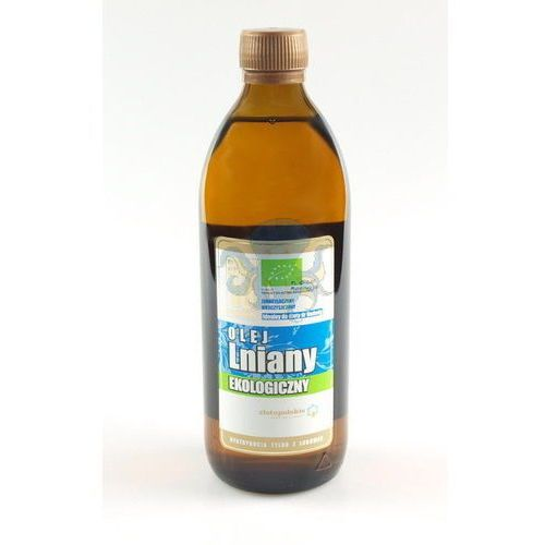 Olej lniany budwigowy BIO 500ml 10-stopniowy - 500ml (Oleje, oliwy i octy)