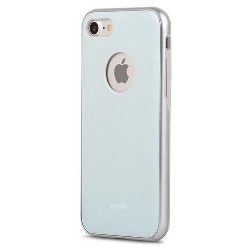 Moshi iGlaze - Etui iPhone 7 (Powder Blue) Odbiór osobisty w ponad 40 miastach lub kurier 24h, kolor Moshi