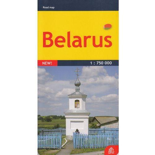 Białoruś mapa 1:750 000 Jana Seta - Praca zbiorowa (2011)