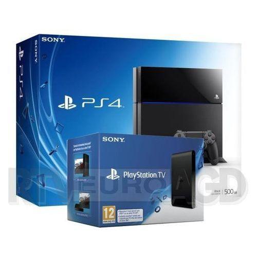 Sony Sony PlayStation 4 + PlayStation TV z kategorii [konsole]