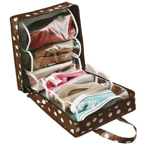 Torba podróżna na buty PRETTY WOMAN, organizer na 6 par, WENKO (4008838796450)