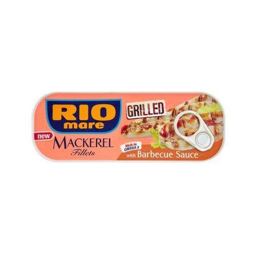 RIO MARE 120g Grillowane filety makreli w sosie barbecue