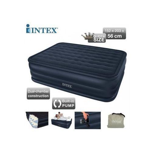 Materac INTEX Queen Downy Airbed z wbudowaną pompką - produkt dostępny w Sklep Idealny