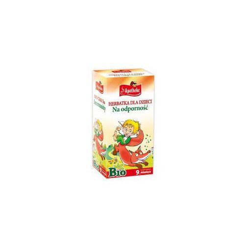 Herbatka dla dzieci na odporność bio 20 x 1,5g - marki Apotheke