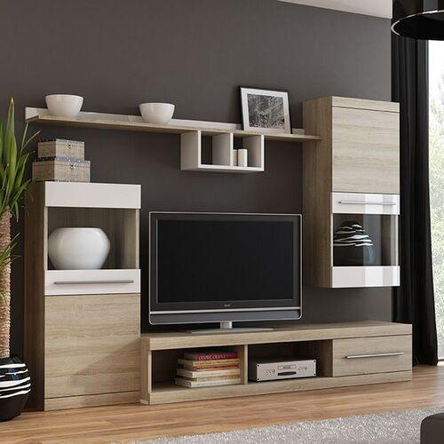 Tenisty biała meblościanka marki High glossy furniture