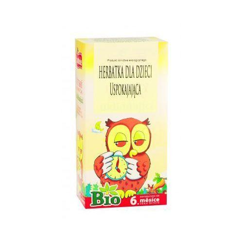 Herbata dla dzieci Uspokajająca BIO 20x1,5g Apotheke (8595178200694)