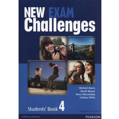 New Exam Challenges 4 SB+Mp3 CD (podręcznik wieloletni) - Praca zbiorowa, oprawa miękka