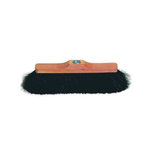 Redecker - Szczotka do zamiatania podłogi z końskiego włosia - 28.5 cm + drewniany kij ze sklepu HOJO.PL Starwax Soluvert Starnet