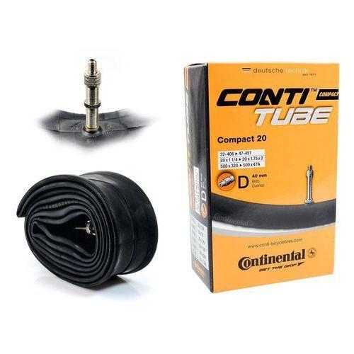 Continental Co0181221 dętka compact 20'' x 1,25'' - 1,75'' wentyl dunlop 40 mm
