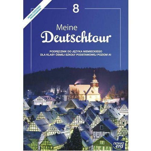 Meine Deutschtour 8. Język niemiecki. Podręcznik. Poziom A1. Szkoła podstawowa, oprawa miękka