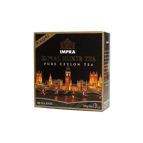 100x2g royal elixir tea knight herbata czarna ekspresowa premium marki Impra