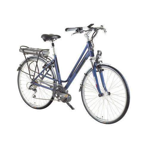 """Devron Miejski rower elektryczny wellington 28024, niebieski-czarny, 21"""" (8596084015556)"""