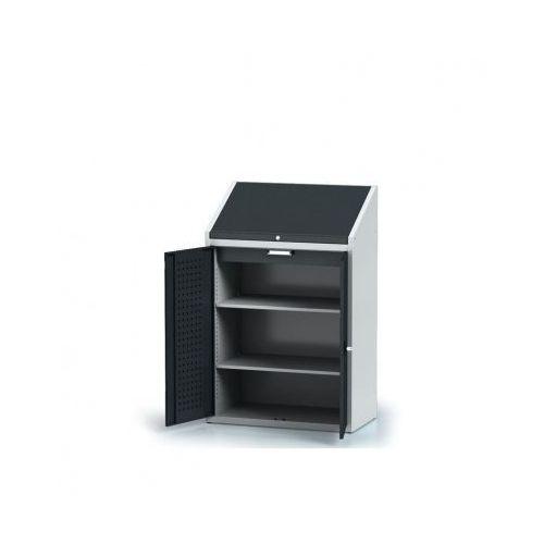 Szafa warsztatowa z nadstawką - 2 półki, 1 szuflada marki Alfa 3
