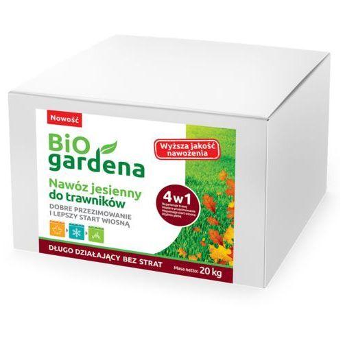 Bio gardena (nawozy i preparaty) Nawóz do trawników jesienny eko 20 kg - bio gardena (5906874480137)