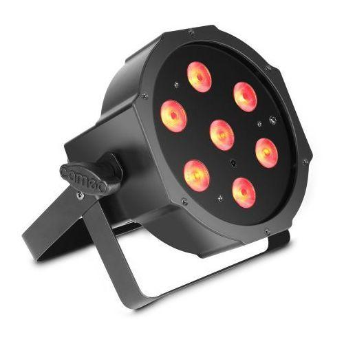 flat par 1 rgbw ir lampa par 7x4w flat rgbw w czarnej obudowie marki Cameo