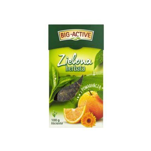 Bio-Active zielona z pomarańczą 100g liściasta (5905548350172)