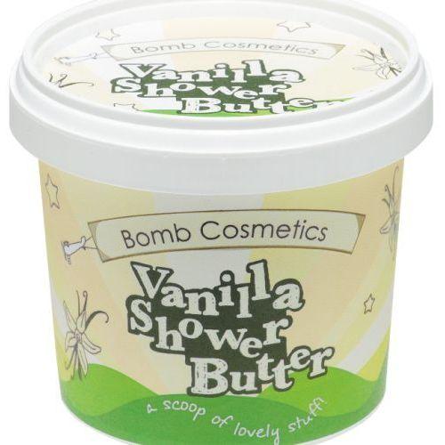 Bomb Cosmetics - Vanilla - Shower Butter - Myjące masło pod prysznic - LODY WANILIOWE (5037028243602)