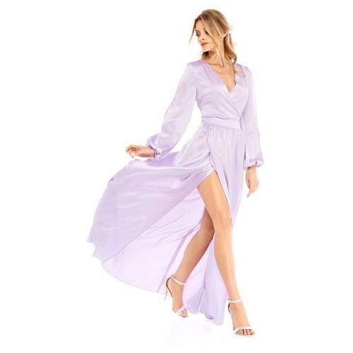 Sukienka Penelopa w kolorze liliowym, kolor fioletowy