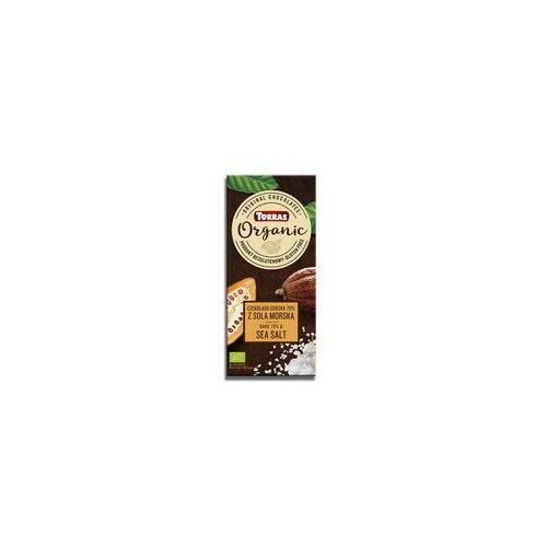 Torras Czekolada gorzka 70% kakao z solą morską bio 100g (8410342006745)