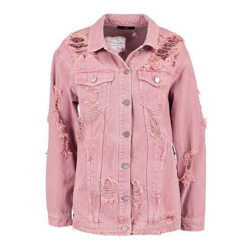 Missguided Kurtka jeansowa pink