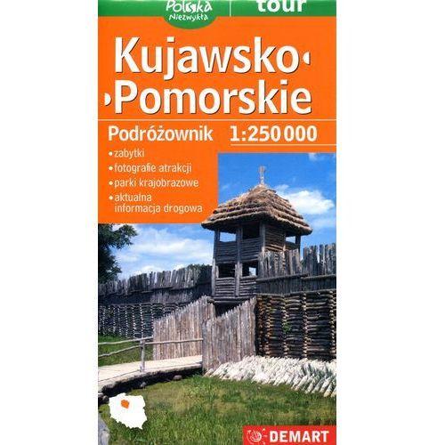 Kujawsko-pomorskie podróżownik mapa samochodowa (1 str.)