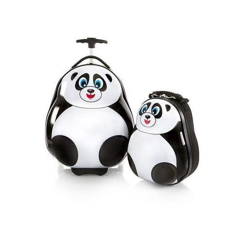 Zestaw: walizka i plecak Heys - Panda