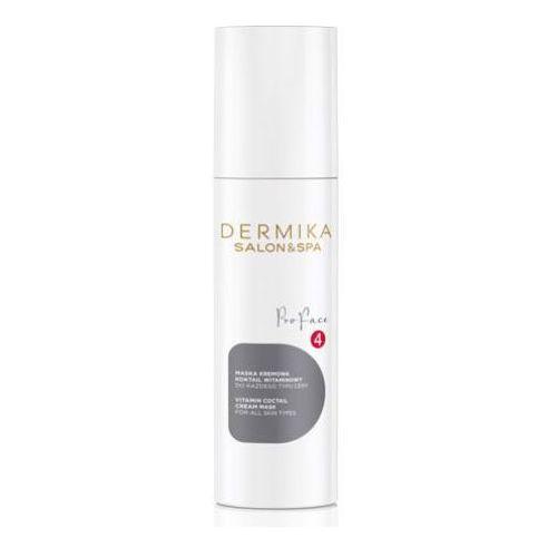 vitamin cocktail cream mask maska kremowa - koktajl witaminowy marki Dermika