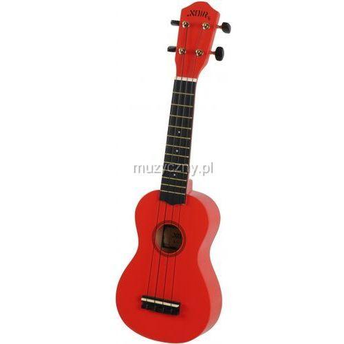 nu1s red ukulele sopranowe marki Noir