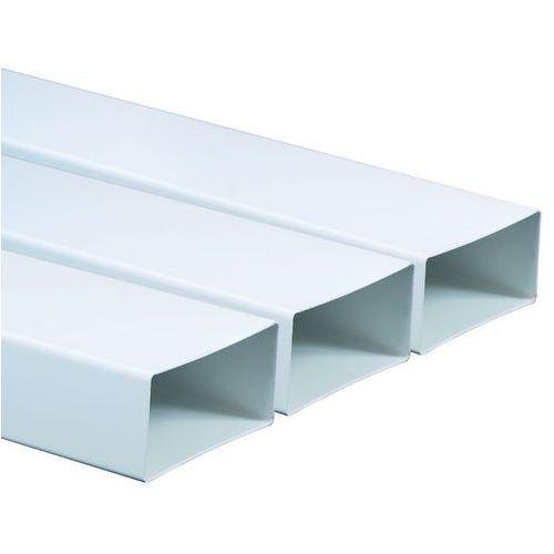 Kanał płaski wentylacyjny PVC Awenta KP55-05 - 55x110 0,5mb