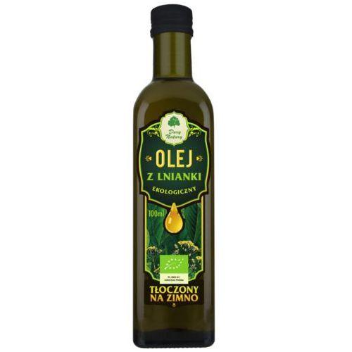 Olej z Lnianki ( Rydzowy ) Virgin BIO 100 ml Dary Natury, 5902581616296