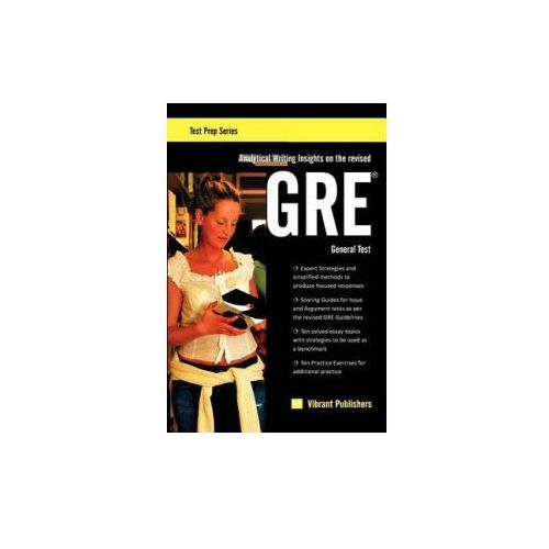 Analytical Writing Insights on the revised GRE General Test (9781463577124)