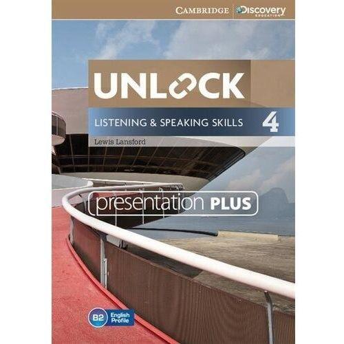 Unlock 4 Listening and Speaking Skills Presentation Plus (Płyta DVD) (9781107643819)
