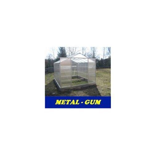 Metal-gum Szklarnia ogrodowa poliwęglan 10,7 m2