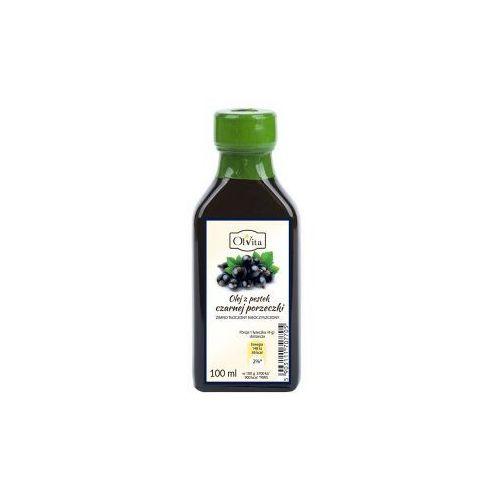 Olej z pestek czarnej porzeczki zimno tłoczony nieoczyszczony 100ml Olvita, 1866