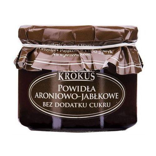 KROKUS 310g Aronia jabłko Powidła bez cukru tradycyjna receptura