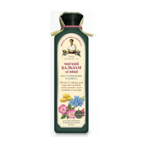 Pierwoje reszenie, rosja Babuszka agafia delikatny balsam do włosów farbowanych 350ml