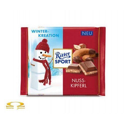Czekolada Ritter Sport Nuss-Kipferl Winter Edition 100g