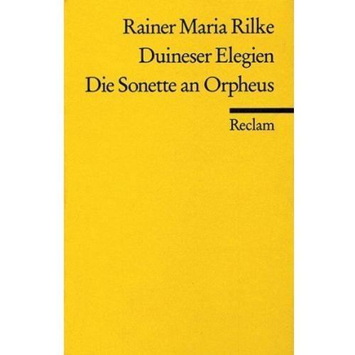 Duineser Elegien. Die Sonette an Orpheus (9783150096246)