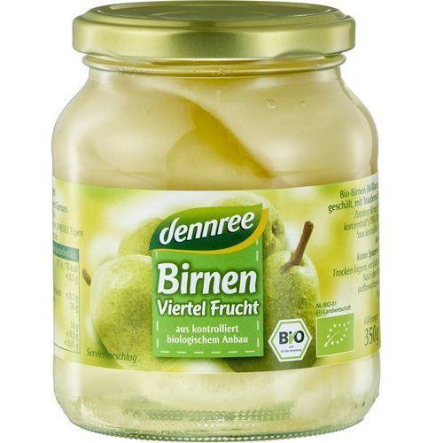 Gruszki williamsa ćwiartki w zalewie bio 350 g - dennree marki Dennree (dżemy, miody, herbaty)