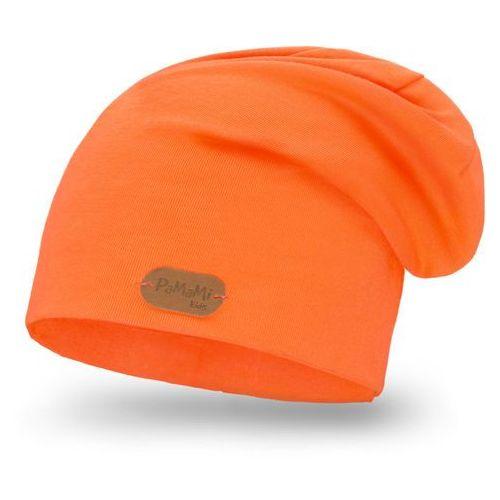 Wiosenna czapka PaMaMi - Pomarańczowy - Pomarańczowy, kolor pomarańczowy
