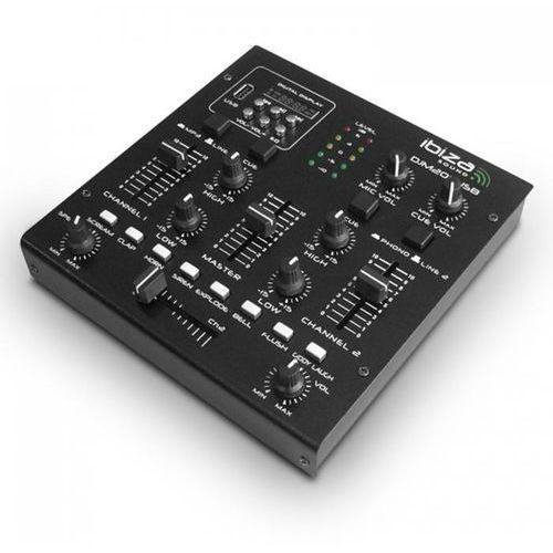 Djm 200 usb 2-kanałowy pulpit mikserski usb mp3 marki Ibiza