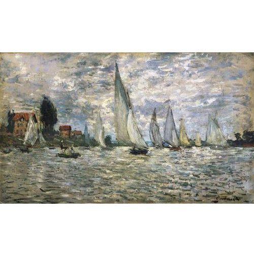 obraz The Boats or Regatta at Argenteuil c 1874 Claude Monet (obraz)