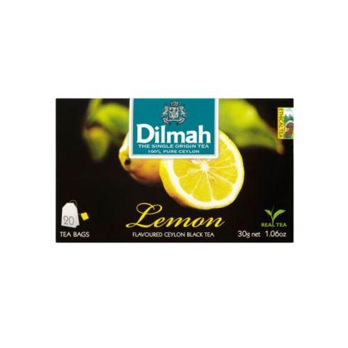 Dilmah 20x1,5g lemon herbata ekspresowa aromatyzowana (9312631142129)