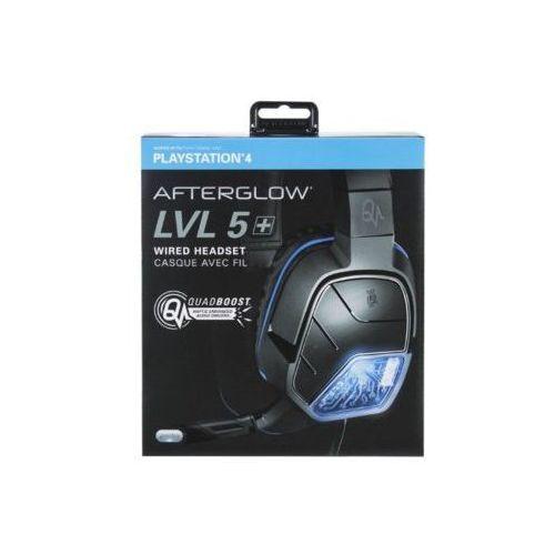 Pdp Zestaw słuchawkowy 051-033-eu-x afterglow lvl 5 stereo do ps4 (0708056056841)