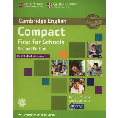 Compact First for Schools 2nd Edition. Podręcznik z Kluczem + CD (135 str.)
