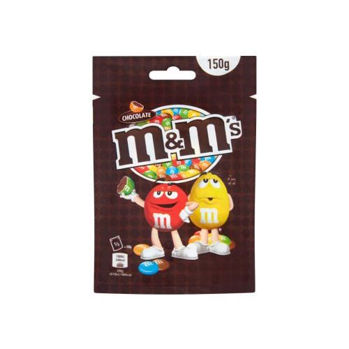 Czekoladowe kulki M&M's Chocolate w kolorowych skorupkach 150 g (5000159471725)