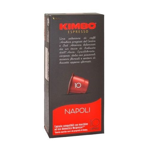 Kimbo Napoli Nespresso 10 kapsułek