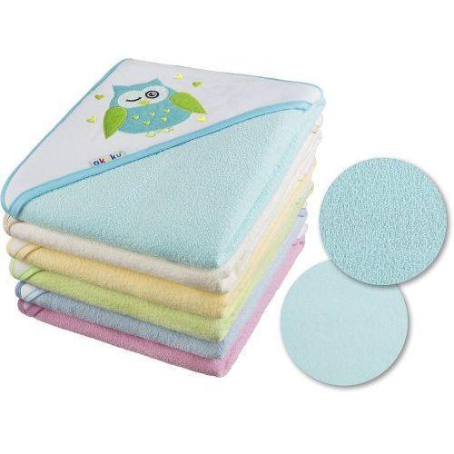 Okrycie kąpielowe 100x100 ręcznik z kapturkiem - kolory marki Akuku